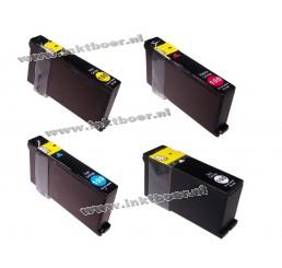 Lexmark Huismerk Inktcartridge 100XL  Voordeelverpakking