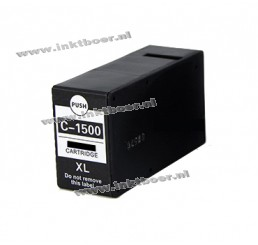 Canon PGI-1500XL Inktcartridge Zwart Hoge Capaciteit (huismerk)