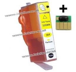 HP 364XL Huismerk Cartridge (Yellow), Met Chip! Nieuwste Versie.