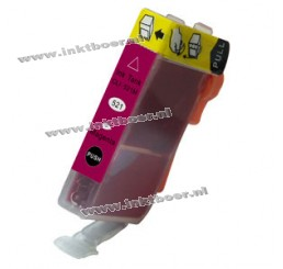 Canon CLI-521M compatible cartridge (met chip) - Magenta