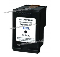 HP 62XL (C2P05AN) inkt cartridge (Zwart) Huismerk