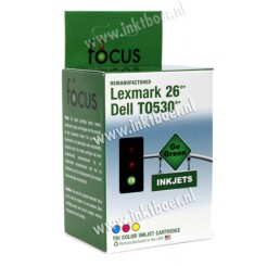 Lexmark compatible Cartridge No. 26 - inktcartridge (10N0026) Kleur