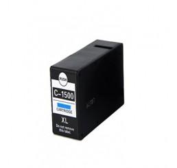 Canon PGI-1500XL Inktcartridge Cyaan Hoge Capaciteit (huismerk)