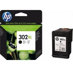 HP 302XL (F6U68AE) inkt cartridge (Zwart)
