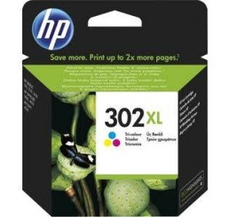 HP 302XL (F6U67AE) inkt cartridge (Kleur)