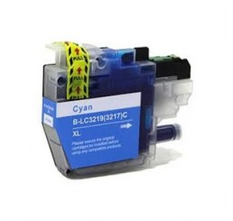 Brother LC-3219XLC inktcartridge, Cyaan (Huismerk)