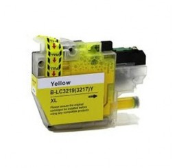 Brother LC-3219XLY inktcartridge, Yellow (Huismerk)