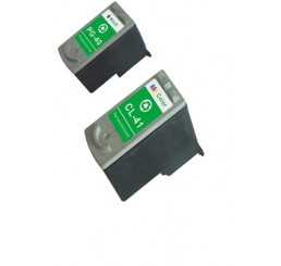 Canon PG-40 Black + CL-41 Kleur Cartridges Huismerk