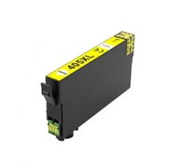 Geschikt Epson 405XL Inktcartridge Geel Hoge Capaciteit