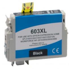 Huismerk Epson 603XL inktcartridge Black