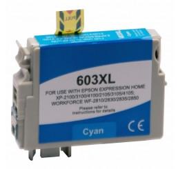 Huismerk Epson 603XL inktcartridge Cyaan