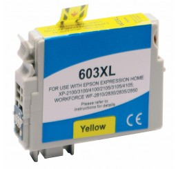 Huismerk Epson 603XL inktcartridge Yellow