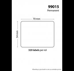 320 x DYMO 99015 / S0722440 LABEL (huismerk)