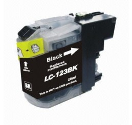 Brother LC-123BK inkt cartridge, Black (Huismerk)