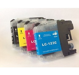 Brother LC-123 inkt cartridges, Multipack (Huismerk)