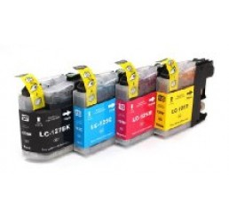 Brother LC-125XL/LC-127XL inkt cartridges, Multipack (Huismerk)