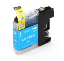 Brother LC-125XLC inkt cartridge, Cyaan (Huismerk)