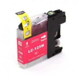 Brother LC-125XLM inkt cartridge, Magenta (Huismerk)