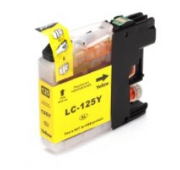 Brother LC-125XLY inkt cartridge, Yellow (Huismerk)