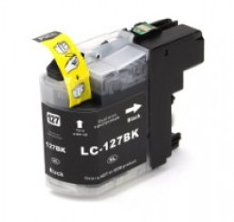 Brother LC-127XL-BK inkt cartridge, Black (Huismerk)
