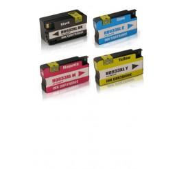 HP 932XL 933XL BK/C/M/Y inktcartridges Multipack (Huismerk)