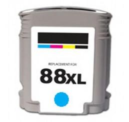 HP 88XL (C9391A) cartridge Huismerk |  Cyaan 28ml