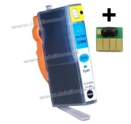HP 364XL Huismerk Cartridge (Cyaan), Met Chip! Nieuwste Versie.
