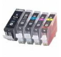 Canon CLI-8/PGI-5BK Huismerk Inkt Cartridges (Met chip)