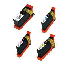 Dell 31 32 33 Serie Inktcartridges Huismerk XL C/M/Y/BK V525W | V725W