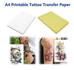 Tijdelijke Tattoo DIY (inkjetprinter)
