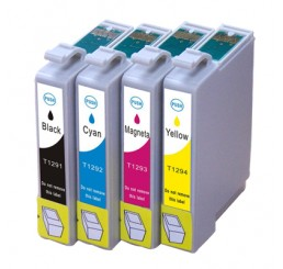 T1295 Epson compatible cartridges Multipack B/C/M/Y