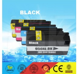 HP 950XL Inktcartridge Huismerk / CN045A Black (Met Chip)