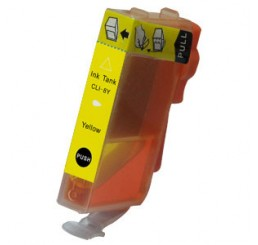 CLI-8Y Canon Compatible cartridge yellow (Met chip)