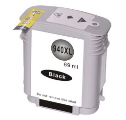 HP 940XL Inktcartridge Huismerk / C4906A Black (Met Chip)