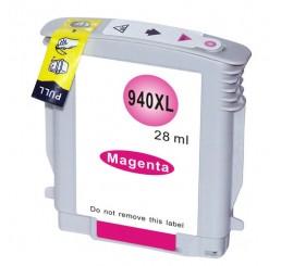 HP 940XL Inktcartridge Huismerk / C4908A Magenta (Met Chip)