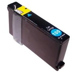 Lexmark Huismerk Inktcartridge 100XL / 14N1069E - Cyaan
