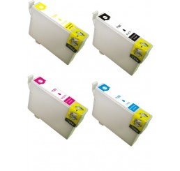 T1285 Epson compatible cartridges Multipack B/C/M/Y
