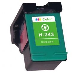 C8766E HP 343 Huismerk cartridge (17ml) (kleur)