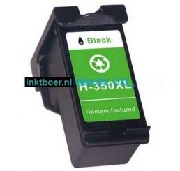 HP Inktcartridge 350XL / CB335EE compatible cartridge Zwart (28ml)