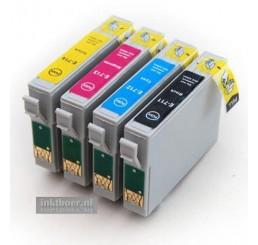 T0715 Epson compatible cartridges Voordeelverpakking