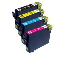 Geschikt Epson 502XL inktcartridges Multipack BK/C/M/Y