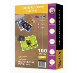 10x15 Glanzend Waterproof Fotopapier 100 vellen 170 grams