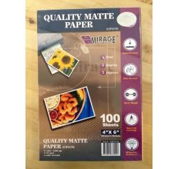 10x15 Mat Waterproof Fotopapier 50 vellen 180 grams