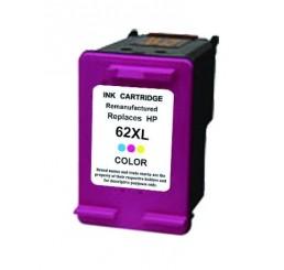 HP 62XL (C2P07AE) inkt cartridge (Kleur) Huismerk