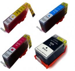 HP 920XL B/C/M/Y Voordeelverpakking Met Chip (Nieuwste Versie)