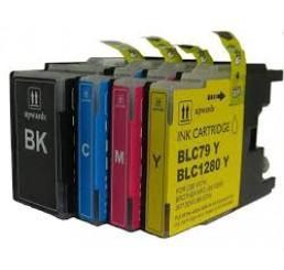 LC-1280 Brother Voordeelverpakking BK/Y/M/C (Huismerk)