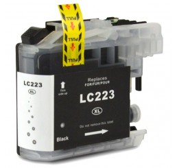 Brother LC223BK inkt cartridge, Black (Huismerk)