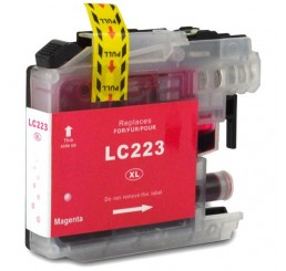 Brother LC223M inkt cartridge, Magenta (Huismerk)