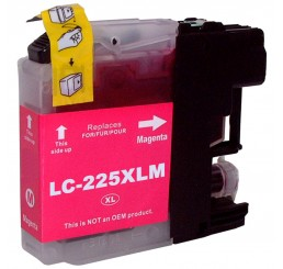 Brother LC-225XLM inkt cartridge, Magenta (Huismerk)