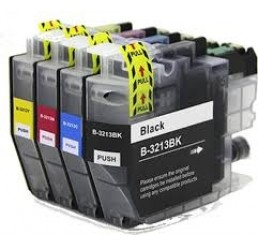 Brother LC-3213XL Multipack inktcartridges ,C/M/Y/BK (Huismerk)